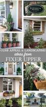 curb appeal and landscaping ideas from fixer upper from