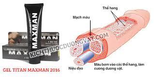 dùng gel titan maxman tăng kích thước trong 3 tuần