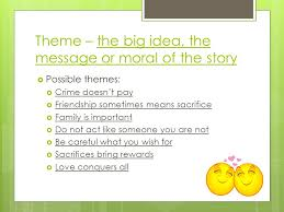 story themes about friendship about the authors literary terms story plot ppt download