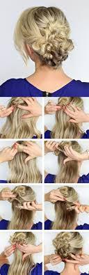 Hochsteckfrisuren Selber Machen Halblange Haare by 1001 Ideen Wie Sie Effektvolle Hochsteckfrisuren Selber Machen