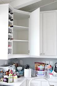 how to organize corner kitchen cabinets iheart organizing organized kitchen corner cabinet with a
