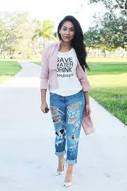 light pink blazer forever 21 blue boyfriend jeans forever 21 jeans light pink trench coat forever
