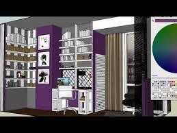 interior design bedroom designs on 3d sketch up youtube