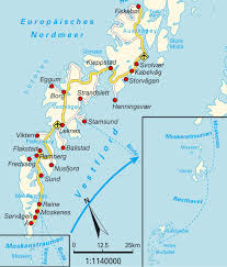 Scandinavia On Map Map Of Greater Leknes Norway Maps And Directions At Map