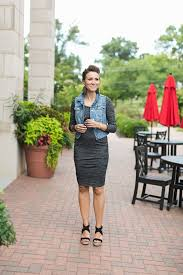 body con dress and denim vest maternity style one little momma