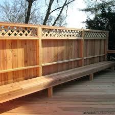 Woodworking Plans Bench Seat Deck Railing Bench Design Plans U2013 Amarillobrewing Co