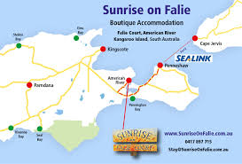 South America Rivers Map by Sunrise On Falie 0417 897 715 Kangaroo Island Accommodation