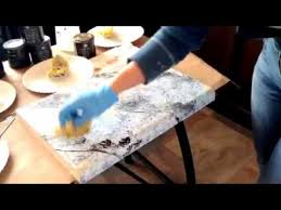 How To Paint Faux Granite - how to apply the white diamond kit by giani granite youtube