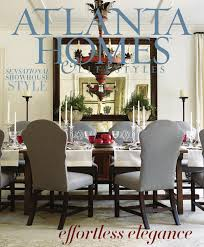 Dining Room Sets Atlanta by Atlanta Homes U0026 Lifestyles February 2014 Issue By Network