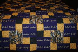 Royal Crown Home Decor Crown Royal Quilt Custom Made To Order Crown Royal Quilt