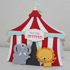 circus invitations and get inspired to create your