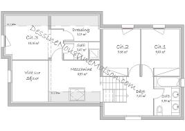 plan maison 80m2 3 chambres plans de maisons individuelles avec 3 chambres