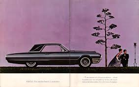 read the history of the infamous ford thunderbird