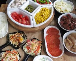 raclette dinner party recipe ideas a glug of oil