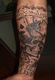 3d skull tattoos design ideas