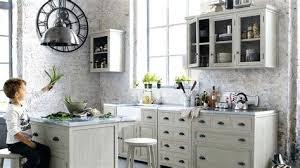 meuble cuisine zinc maison du monde meuble cuisine awesome cuisine copenhague maison du