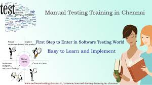 Testing Resume For 1 Year Experience Manual Testing Training In Chennai Manual Testing Training