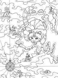 631 best colouring cats dogs zentangles images on