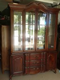 Corner Cabinet Dining Room Hutch Dining Room China Cabinets Vintage Bernhardt Dining Room China