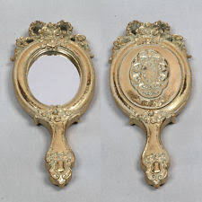 Gold Vanity Mirror Collectable Hand Mirrors Ebay