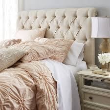 audrey upholstered flax headboard diamond bedrooms and master