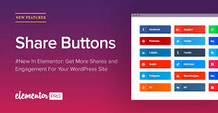 membuat weibo english add share buttons to wordpress with elementor share buttons