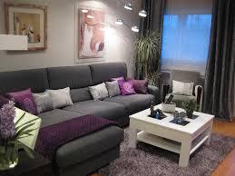 decoracion casas gris con morado para usar como base