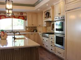 Kitchen Faucet Leaking Under Sink Kitchen Cabinets French Country Kitchen Cabinet Designs Country