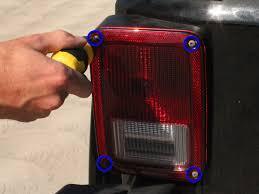 jeep jk led tail light bulb 2007 2012 jeep wrangler tail light bulb replacement 2007 2008
