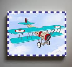 Vintage Airplane Nursery Decor Vintage Wall Art For Boy Nursery Vintage Toy Trains Set Of Nine