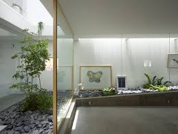 Glass Wall House by Inside Garden House Glass Wall Separation Decoration3 Home