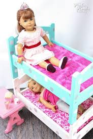 DIY American Girl Doll Bunk Beds - Dolls bunk bed