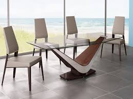 Expandable Dining Room Tables by Home Design F Unique Dining Room Furniture With Tempered Glass