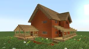 minecraft how to build big wooden house 2 minecraft building