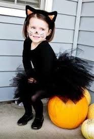 Black Cat Halloween Costume Kids Easy Cat Costume Makeup Child Google Cat Makeup Kids