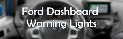ford edge check engine light flashing dashboard warning lights explained