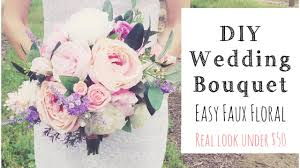 wedding flowers quote form how to make a wedding bouquet diy real look faux floral bouquet