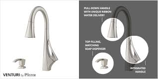 the venturi kitchen faucet u2013 pfister faucets kitchen u0026 bath design