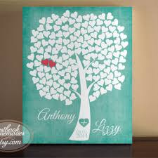 heart guest book heart guestbook tree 150 guests 16x20 from guestbookmemories