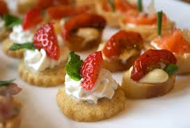how to canapes canape catering in surrey food martin catering