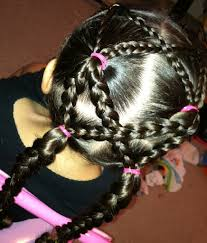 hairstyles using rubber bands braided up do bluxgirl