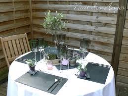 dã coration de table de mariage décoration de table provençale nuit des anges