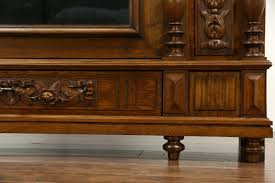 sold french louis xvi antique 1890 carved oak u0026 chestnut armoire