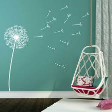 online get cheap dandelion wall art stickers aliexpress com dandelion wall decal removable vinyl wall art stickers for kids baby rooms bedroom nursery wall decor poster retro murals a245