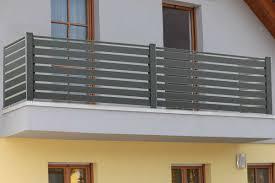 balkon alu alu querlatten balkongeländer modena