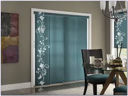 sliding door curtain rod without center bracket patios home