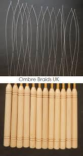 hair beader ombre braids uk wooden hair beader