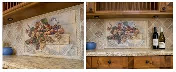 kitchen mural backsplash 19 amazing kitchen backsplash murals snapshot idea ramuzi