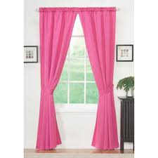 Sears Draperies Window Coverings by Essential Home Sydney Panel Pair Pink Home Home Decor