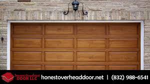 Precision Overhead Garage Doors by Honest Overhead Door Garage Doors In New Caney Youtube